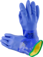 Dryglove blue - attached