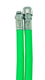 MIFLEX Xtreme braided GREEN Jacket hoses
