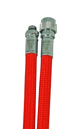 MIFLEX Xtreme braided RED Jacket hoses