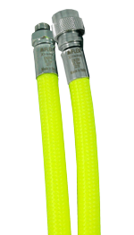 MIFLEX Xtreme braided YELLOW Jacket hoses